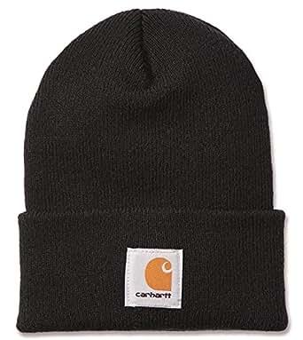 carhartt a18 bonnet beanie watch hat noir black v tements et accessoires. Black Bedroom Furniture Sets. Home Design Ideas
