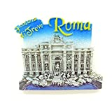 lvedu Mailand Italien Rom Trevi-Brunnen Kühlschrankmagnet World Tourist Souvenirs Creative Home Deko Kühlschrank Magnet Sticker