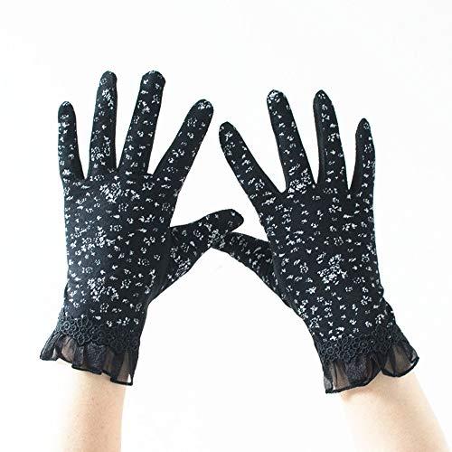 WWeiweian Handschuhe Damen Damen Handschuhe Damen dünnen Abschnitt Reiten Sonnenschirm Reiten Kurze...
