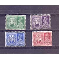 British India - 1946 - Set of 4 Stamps AS Shown - MH - A 0196
