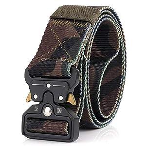 CHOUBAGUAI Taktischer Gürtel Outdoor Taktischer Gurtschutz Aus Nylon Tactical Hunting Accessories Tactical Gear Heavy Duty