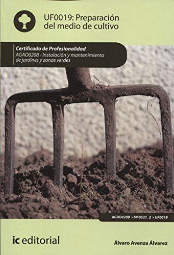 Preparación del medio de cultivo. AGAO0208 - Instalación y mantenimiento de jardines...