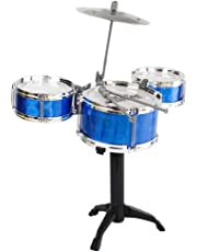 PLAY CUBE Mini Jazz Drum Instruments Kit Musical Toy (Random Color) - Set of 5