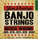 Dunlop DJN0930 Nickel Tenor Banjo Strings (Pack of 4)