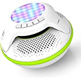 Altavoz impermeable del bluetooth del nadador de COWIN 4.0 Altavoces sin hilos flotantes portables IPX7 con 10W más el bajo profundo y la luz colorida del LED