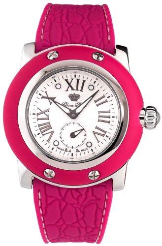 Glam Rock GR30015FF - Reloj para mujeres, correa de diversos materiales color morado