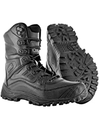 Hi-Tec Mens Urban Patrol Boat – Magnum Lightspeed 8.0 Black Shoes Boots Security Police Paintball