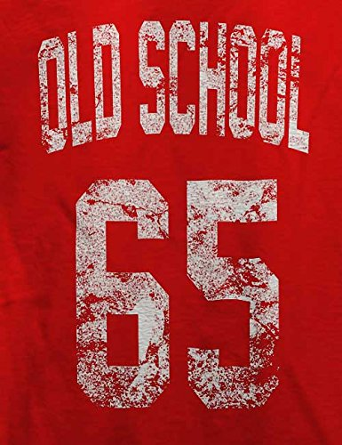 Oldschool 1965 T-Shirt Rot