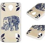 Para Huawei Ascend Y635 (5 pulgadas) Cáscara ZeWoo® Carcasa y Funda de Silicona - YG010 / elefante indio