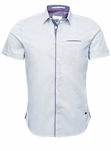 Freeman T. Porter -  Camicia Casual  - Uomo Blu (Original) M