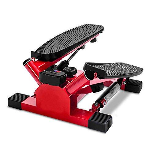 LY-01 Stepper Mini-Übung Stepper Machine Oberschenkel-Toner-Toning Machine Workout Training Fitness Treppe, Costway Übung Schritt Maschine Aerobic Fitness Stepper Seile Training