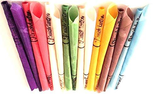 16 Konische Ohrkerzen Ohrenkerzen farbig ZweiohrkerZen, 8 Paar mit Duft, Trichterform konisch preisvergleich