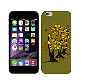 Galaxy Printed 1276 WildLife in Bloom Leo HARD COVER for Apple iPhone 4