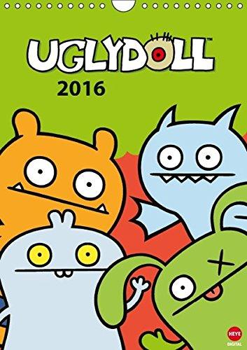 der 2016 DIN A4 hoch): Ugly Dolls: Freche Plüschpuppen (Monatskalender, 14 Seiten) (CALVENDO Spass) (Ugly Doll Ox)