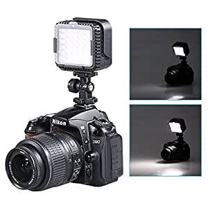 NEEWER® CN-LUX360 5600K Dimmable LED Video Light Lamp for Canon Nikon Camera DV Camcorder