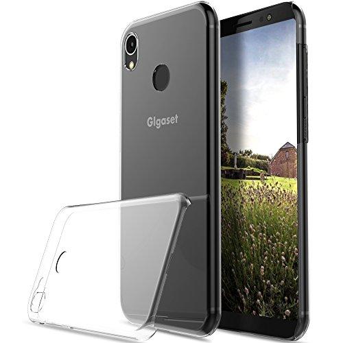 KuGi Gigaset GS185 Hülle, Hochwertiger Ultradünne Frosted [Stoßfest][Anti-Scratch][Schlank Passen][Anti - Wrestling] PC Schutzhülle Hülle für Gigaset GS185 Smartphone.Transparent