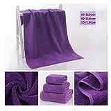 Asciugamani da bagno Uomini / donne bambino accappatoi asciugamano pigiama Fare il bagno Alberghi bagno Articoli per la casa 100 * 180 cm , purple , 90*110