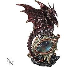 Nemesis Now–Figurine–Rouge oeil de la figurine Dragon–21cm–u2052F6–Nouveau