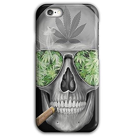 Skeleton Smoke Weed Cool Skull 3D iPhone 6 Plus / 6S Plus Case | Wellcoda