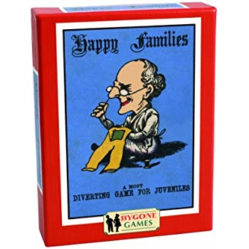 Cheatwell Games Bygone Days Happy Families Card Game
