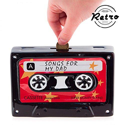 Hucha de Cerámica Retro Cassette