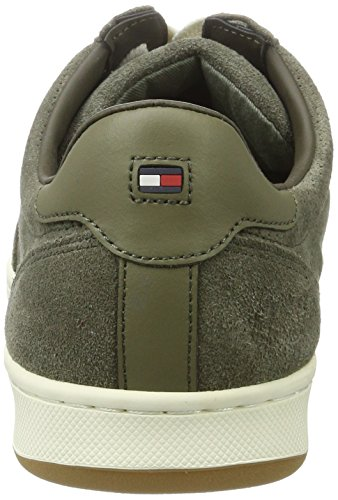 Tommy Hilfiger H2285oxton 2b, Sneakers Basses Homme Vert (Dusty Olive 011)