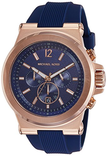Michael Kors Analog Blue Dial Men's Watch-MK8295