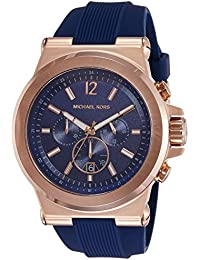 Michael Kors Analog Blue Dial Men's Watch-MK8295