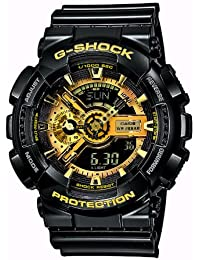 Casio Herren Analog/Digital Quarz mit Resin Armbanduhr GA110GB1AER