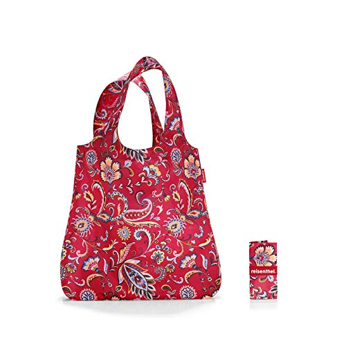 Reisenthel Mini Maxi Shopper Sporttasche, 60 cm, 15 L, Paisley Ruby