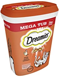 Dreamies Cat Treats with Chicken Mega Tub, 350 g
