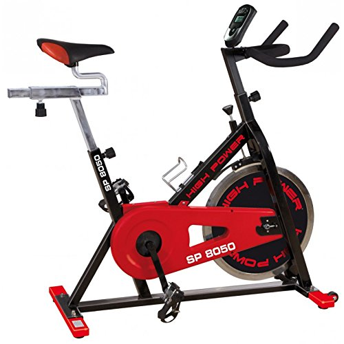 High Power Sp 8050 Spin Bike, Nero Lucido, 105 x 50 x 108 cm