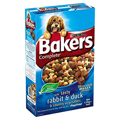 Bakers Complete Rabbit and Duck 1.35 Kg (pack of 4) 1