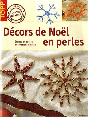 Décors de Noël en perles