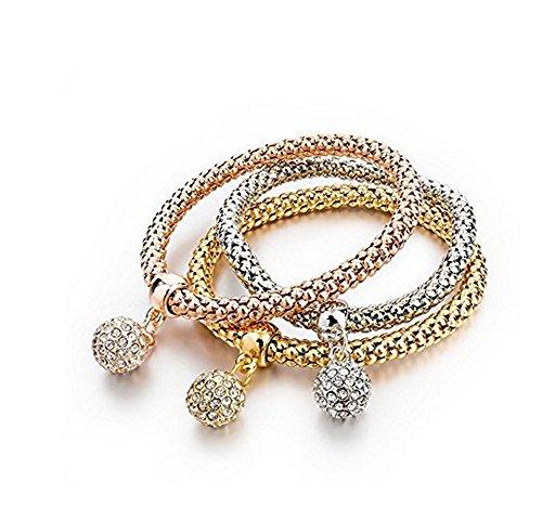 Armband–vergoldet gelb–für Damen und Herren (Damen-armband Cartier)