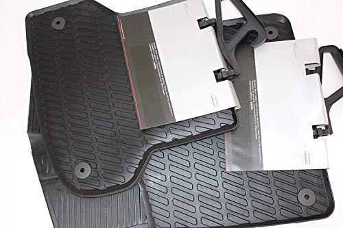 Audi A3 8P Original Gummi Fußmatten, vorn+hinten
