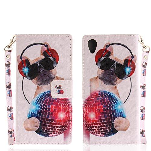 Ooboom® Sony Xperia XA1 Plus Funda Magnético Flip Wallet Case Cover Carcasa...