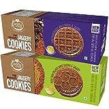 #7: Early Foods - Assorted Pack of 2 - Organic Ragi Amaranth & Ragi Choco Jaggery Cookies X 2 (100% Sugar Free Cookies)