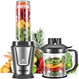 KotiCidsin Blender, Blende Smoothie, Mixeur Multifonctionnel 2 en 1 pour Smoothies,...