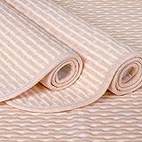 CNMF 4 Lagen Wasserdicht Atmungsaktiv Inkontinenzauflage Bettunterlage für Baby Kinder Erwachsene Dry Night Matratzenauflage Waschbar -100% Baumwolle,100 * 120cm