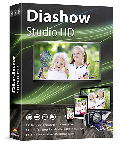 Diashow Studio HD - Slideshow Maker - Einzigartige Diashows erstellen mit Foto, Video und Musik für Windows 10 / 8.1 / 7 / Vista (Foto-maker)