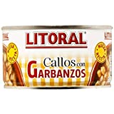 Litoral Callos con garbanzos - Plato Preparado Sin Gluten, paquete de 12 x 380 gr - Total: 4.56 kg
