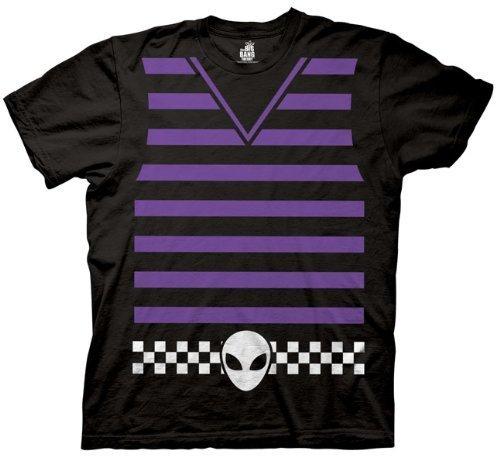 Kostüm Howard Wolowitz - The Big Bang Theory Howard Wolowitz Kostüm Erwachsene Schwarz T-Shirt (XX-Large)