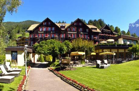 Jochen Schweizer Geschenkgutschein: Romantik-Wochenende für 2 in Grindelwald