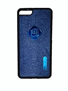 Wise Guys Soft Back Cover Case for Micromax Canvas Knight 2 E471 - Dark Blue