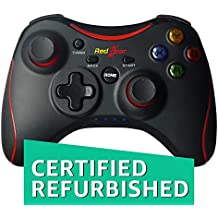 (CERTIFIED REFURBISHED) Redgear Pro Wireless Gamepad (Black)