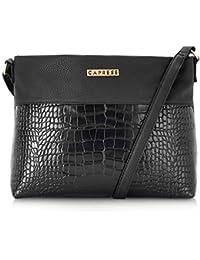 Caprese Glenn Women's Sling Bag (Black)