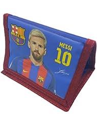 Portefeuille officiel, certifié authentique du FC Barcelone Lionel Messi