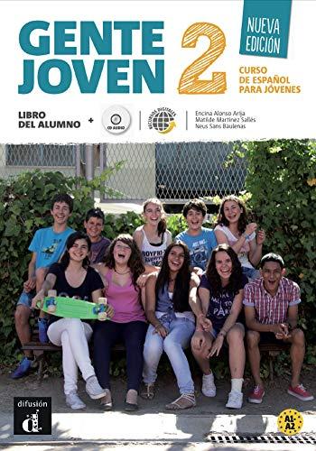 Gente joven 2. Nueva edición. Libro del alumno (Nivel A1-A2): libro del alumno + CD (Ele - Texto Español)