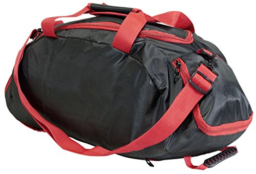 60ddc9ad2acea Rucksack Tasche 2 in 1 Sporttasche 40 Liter Leichte Rucksacktasche für Sport  und Freizeit … Dunkel Blau   Grün Schwarz Rot